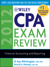 Wiley CPA Exam Review 2012, Financial Accounting and Reporting (eBook)